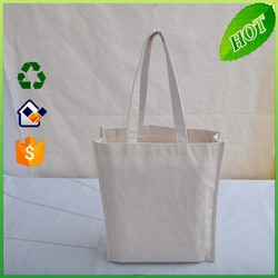 Wholesale custom heavy duty cotton canvas shopping tote bag