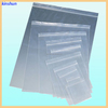 wholesale decorative transparent ldpe zip lock bag with white line