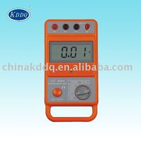 KD2571B 2000 ohm 4 terminals top quality high accuracy soil resistivity tester Digital Earth Tester