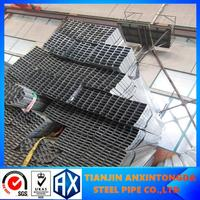 Professional astm std a500 square pipe with CE certificate