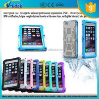 real ip 68 waterproof gorilla glass aluminum metal case for iphone 6