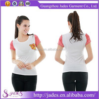 Hot sale professional factory manufacture branded t-shirt women
