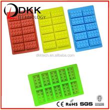 DKK-B006 2015 FDA/LFGB Perfect 100% Safe Silic one Silicone Single Silicone Ice Cube Tray