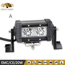 KR9018 5.5inch 20W off road led light bar, 20W 1450LM high intensity of led light bar for 4X4 driving light