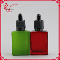 dropper bottle pipette any color is ok 15ml glass dropper bottle 1oz red glass dropper bottle