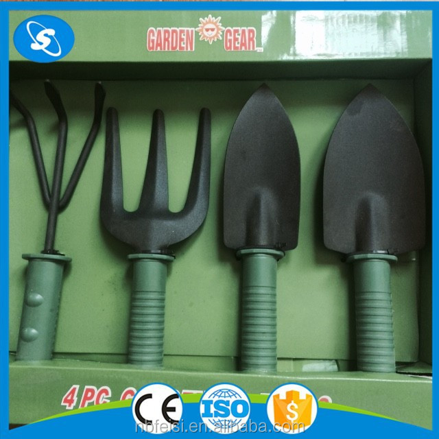 High quality 4pc gardening tool set 4 in 1 multifunction for Good quality garden tools