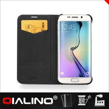 QIALINO Top Class Professional Design Original Leather Protective Case For Samsung For Galaxy S6 For Edge