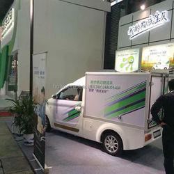Light weight mobile electric passenger van made of pp honeycomb sandwich panel