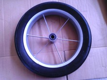 cart spoke solid rubber wheel and tires