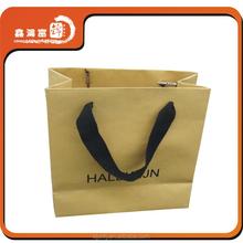 BJXHFJ fancy cheap brown decorative paper bags