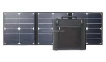 high efficiency 40Watts foldable solar panel, 18V flexible solar charger with sunpower cell