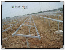 Ground solar system used solar panel support