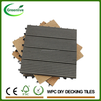 Eco swimming pool composite deck tiles