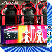 China Manufacturer Vivid Effect Theme Park Theater New Movies