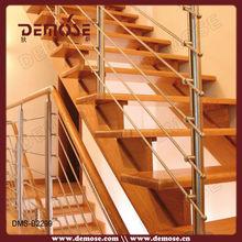En acier inoxydable main courante balustrade pour escaliers