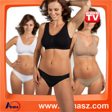 As Seen On TV Push Up Yoga Sport Bra Genie Bra With Removable Pads