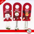 red door decoração de suspensão para o natal com especial perna longa santa