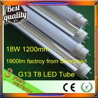 low price 18w led reb tube 120cm ac85-265v