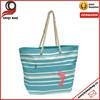 Blue Stripe Shopping Beach Tote shopping bag