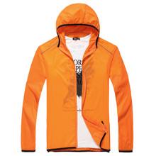 Womens transparent ultra thin UV protective jacket beach coat
