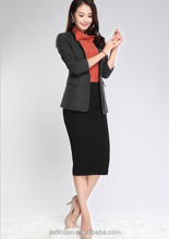 Black classical Small Suit for business women