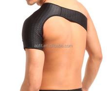 ALibaba Express elastic shoulder support belt for one side self heated tourmaline single shoulder support