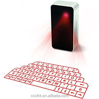 Wireless Bluetooth Virtual Keyboard QWERTY Laser Projection For iPhone 6 5 iPad5