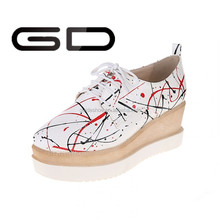 GD Shoe Heels Type and PU Material Shoe