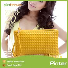 Pinter yiwu manufactory promotional fashion hot sale wholesale diamond lattice PU phone case 2015