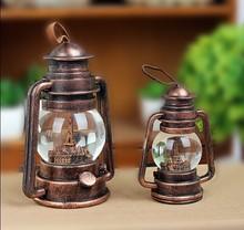 wholesale gift craft,Kerosene lamps restoring ancient ways glass craft for sale
