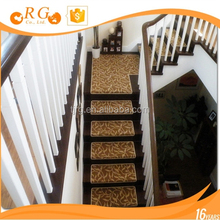 fancy fashion cotton custom stair/stairway home carpet