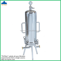 China Professional Manufacturer Food Grade Stainless Steel Cartridge Filter Housing For Coconut Oil Filter