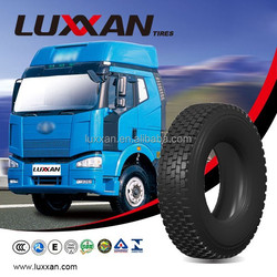 Luxxan 803 cheap truck tyre new reliable radial truck tires 315/80 r22.5