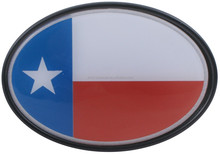 "Hotsale plastic Texas Flag 2"" Trailer Hitch Receiver Cover"