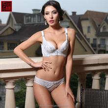 Best quality white underwear factory direct sale woman sexy nighty and bra