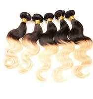 Body Wave 1B 613 Two Tone Hair, Two Tone Color Hair Extensions