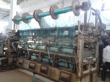Raschel knitting machines