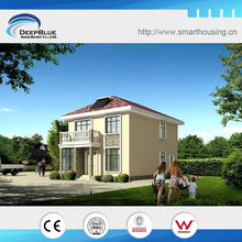 beautiful 2 floor prefabricated house