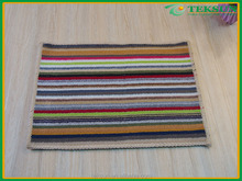 Factory outlet new style simple polyester phozy non-fading top grade wooden floor mat