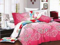 latest design 3D print 100% polyester fabric wth brushed for bedding sets/duvet cover/bed sheet set
