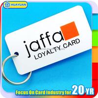K4 Barcode Printing PVC key tag ID card