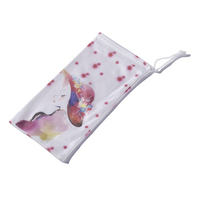 Soft Custom Printed Microfiber Drawstring Glasses Pouch