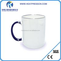 Top Grade side colorful Sublimation Coating Ceramic Mug