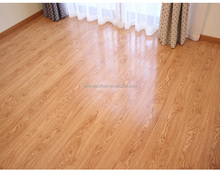 high quality any room to instal tough surface 12mm laminate glass floor