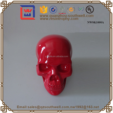 Custom Sculpture Stock Resin Crafts Wholesale Halloween Skull