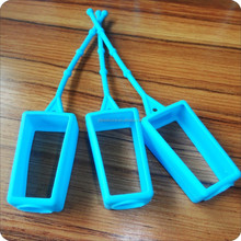 Factory make bottle shoulder hook/silicone perfume bottle cover /hand washing liquid cover