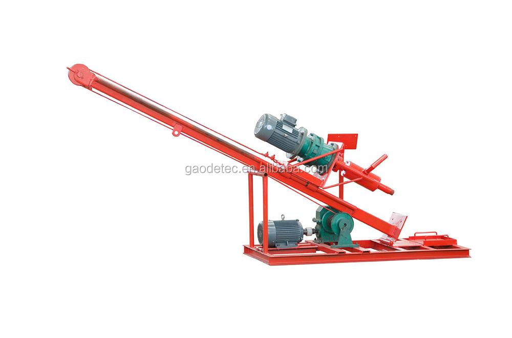 600mm 90m petite foreuse portative hydraulique de puits d for Foreuse manuelle pour puit