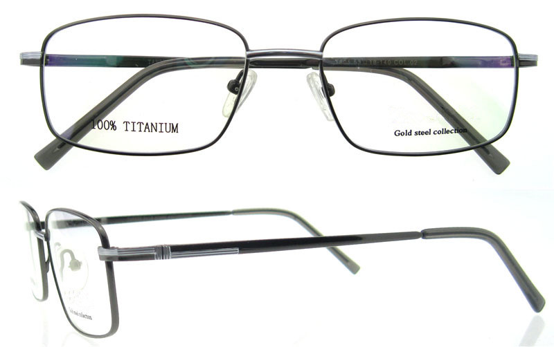 Titanium Eyeglass Frames China : Wholesale men new style 2015 spectacle frames eyeglasses ...