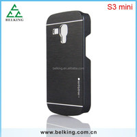 For Samsung Galaxy S3 S3 mini Motomo Aluminum metal case Hard back cover for Galaxy PHONES