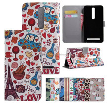 for ASUS ZENFONE 2 leather case mobile phone case cell shell cover wholesaler